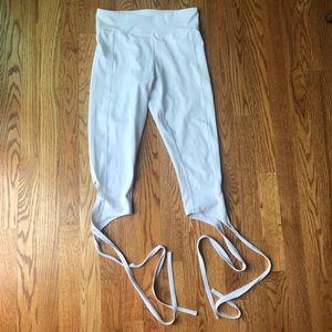 Flexi Lexi Pants - Flexi Lexi White Dancer Leggings